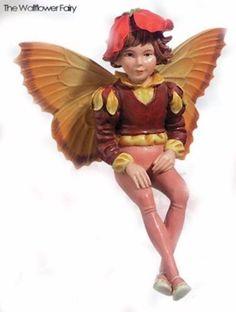 Retired Cicely Mary Barker Wallflower Flower Garden Fairy Ornament Figurine NIB! | eBay