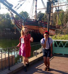 Dapper Day 9/12/2014 Hook and Smee