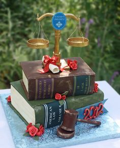 Or something like this, with BOTH of them!!!  But less... law school-ey  --  Brendys Cakes - Gallery