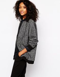 Bomber, to wear with everything.