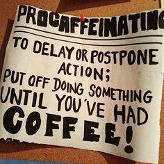 #procaffeinating #MorningFix #espressolove