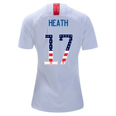White Tobin Heath Jersey 2018 19 Women s USA Independence Day Soccer City 191eace6c