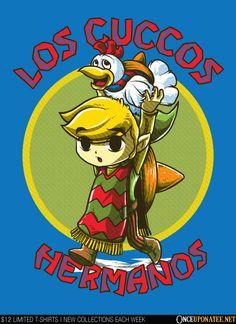 Zelda- breaking bad mashup t-shirt