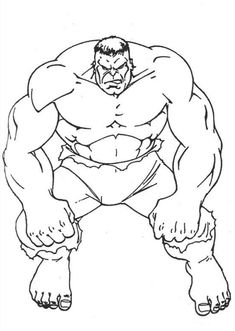 free super heroes paint printouts avengers hulk coloring pages
