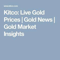 Kitco Live Market Quotes Kitco Live Gold Price Silver Price And Spot Precious Metals