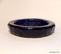 "Pin-dish, ""Kobolt"" by Göte Augustsson for Ruda. Swedish Mid-Century Modern. by Cherryforest on Etsy"