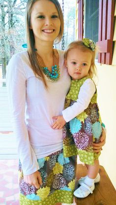 custom mommy and me outfits by kimberlywright1 on Etsy, $45.00 - Don't care for this one, love the idea so I need to find an outfit I'll like for us both