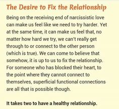 Loving a Narcissist SO TRUE..........thank you for sharing!!