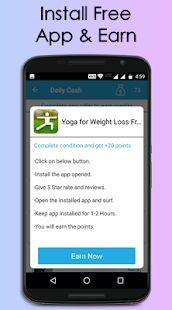 Daily Cash : Earn Money App– captură de ecran miniatură