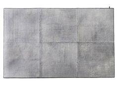 Tapete feito à mão patchwork de fibra de planta estilo moderno personalizado THE MASHUP CUBIK - kymo