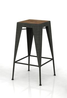 The Workshop Bar Stool from LH Imports is a unique home decor item. LH Imports Site carries a variety of Workshop items.