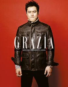 Kim Sung Hyuk - Grazia December 2013