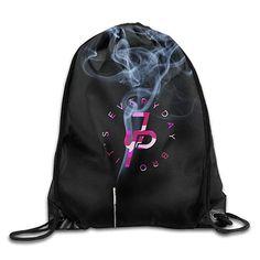 Diving American Flag-1 Drawstring Bag Multifunctional String Backpack Custom Cinch Backpack Rucksack Gym Bag