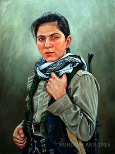 كــــــــــــــــــــــــــــــــــوردستانمان ئاوه دان Art work painting by Harem Jamal Tahir 1986 Born in Halabja south of Kurdistan , He lives and works now in Sulaymaniyah south of Kurdistan . The Kurds, Kurdistan, Freedom Fighters, Culture, Artwork, Painting, Gardens, Amazing, Drawings