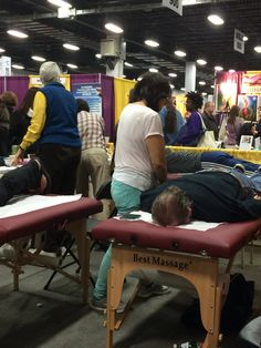 Lots of healing treatments going on over at booth 1012. Stop by and see us! #NATURALEXPO15