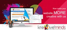 Kre8iveminds...Where only Creativity matters the most kre8iveminds.com