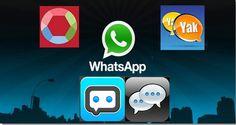 4 aplicaciones alternativas a WhatsApp