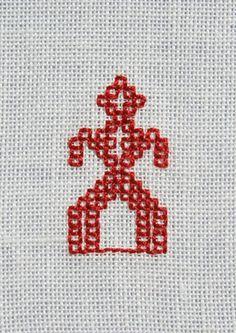 oddcherry » School work - Embroidery