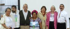 Tremendo grupo Cristina Barros y Marco Buenrostro, Titita del Bajío, y la propietaria del Restaurante Tlalmanalli de Oaxaca. Abigail Mendoza además de Yuri y Edmundo, conmigo