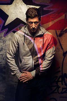 Robert Lewandowski NIKE / Exklusiv by Mateusz Nasternak, via Behance