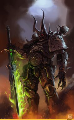 warhammer 40000,фэндомы,Chaos (wh 40000),Black Legion,undivided
