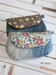 Patchwork Bags, Quilted Bag, Cute Sewing Projects, Diy Bags Purses, Bag Pattern Free, Embroidery Bags, Denim Crafts, Boho Bags, Linen Bag