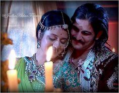 Rajat Tokas (Jalal) & Paridhi Sharma (Jodha)