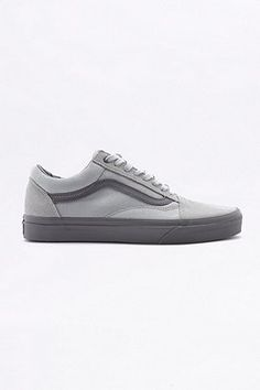 1c8760c4af1bde Vans Old Skool Pewter Mono Trainers. Vans Old SkoolSneakersVans ...