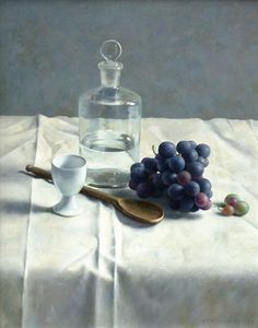 View Still life with grapes by Henk Helmantel on artnet. Browse upcoming and past auction lots by Henk Helmantel. Classical Realism, Still Life Fruit, Fruit Painting, Still Life Photos, Painting Still Life, Dutch Artists, Figure Painting, Painting Classes, Beautiful Paintings