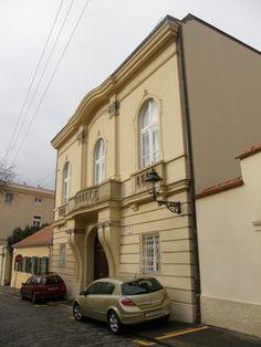 Palace Babocaj-Gvozdanovic, Visoka street (High street)  #Croatia #Zagreb #architecture #style #Europe #capital #design #building #neobaroque #secession #artdeco #artnouveau