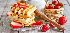 Gingerbread Pancakes, Pumpkin Waffles, French Toast Waffles, Belgian Waffles, Sour Cream Pancakes, Pancakes And Waffles, Red Velvet Waffles, Paint By Number Kits, Waffle Recipes