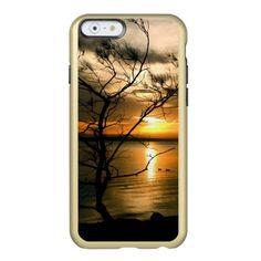 Wispy Sunset Incipio Feather® Shine iPhone 6 Case