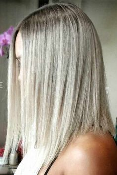 Straight Hairstyles for Shoulder Length Hair picture2