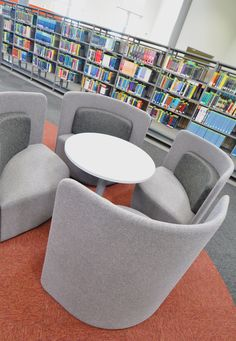 Swansea University: Science & Innovation bay Campus. Shuffle soft seating.