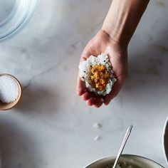 Move aside, sandwiches: Rice is an on-the-go snack, too.
