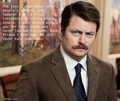 Parks and recreation!!