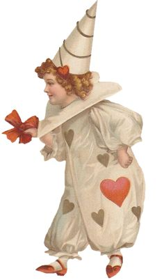 This is a Free freebie clipart image please see our TOU . Valentine Images, Vintage Valentine Cards, Vintage Greeting Cards, Vintage Ephemera, Happy Valentines Day, Valentine Cupid, Victorian Valentines, Valentine Party, Vintage Circus