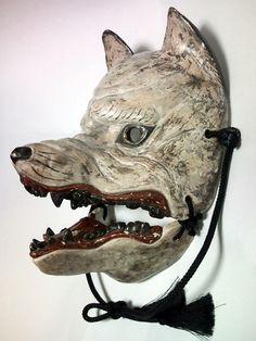 Dog God mask. Japan