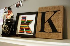 Step by step directions by Kelly Goree for making the painted burlap letter. Burlap Letter, Burlap Monogram, Framed Burlap, Burlap Canvas, Canvas Letters, Painted Letters, Crafts To Do, Decor Crafts, Diy Crafts