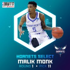 new product a9176 4a02d Malik Monk, Welcome To The Team, Sports Sites, Charlotte Hornets, Nba,
