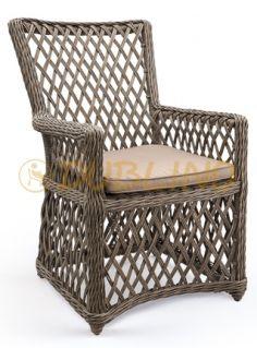 Hliníková kostra, výplet z umělého ratanu Lounges, Rattan, Outdoor Chairs, Armchair, Indoor, Pillows, Furniture, Home Decor, Wicker