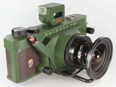 Green Linhof Technorama 617 s III Outdoor Super Angulon  Vintage Lomography  - Lomo ready cameras   - Vintage collectible cameras    www. Etsy.com/VintageLomography