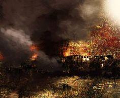 "Saatchi Art Artist Atalay Mansuroğlu; Painting, ""Cloud, Smoke, Ash and Escape"" #art"