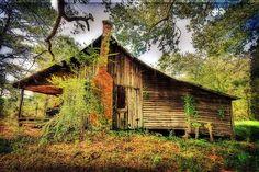 John Bottoms'  old cabin