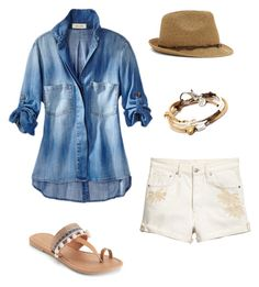 """""""Summer"""" by nancy-lee-nelson on Polyvore featuring Mudd, Lizzy James and Nine West"""