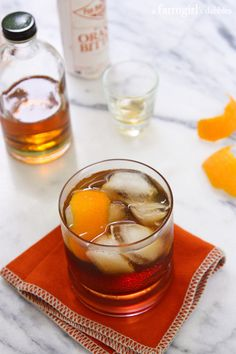 Bacon Bourbon Old Fashioned. Bacon Bourbon Old Fashioned Summer Drinks, Fun Drinks, Beverages, National Bacon Day, Bourbon Old Fashioned, Cocktail Recipes, Cocktails, Clean Eating Snacks, Easy Meals