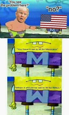 Donald Trump Spongebob meme