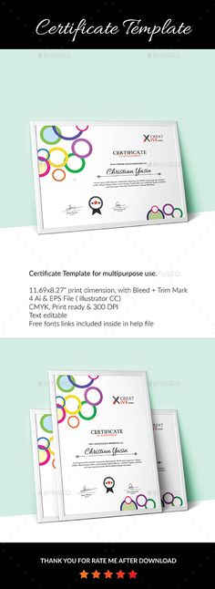 Christmas Gift Voucher V04 Certificate design, Template and Font - Creative Certificate Designs