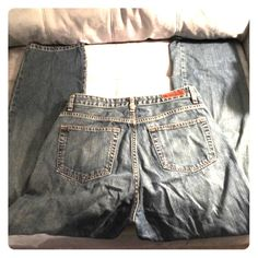 Distressed Ralph Lauren polo jeans Ralph Lauren polo jeans straight legs Ralph Lauren Jeans