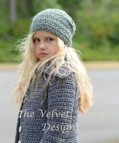 This is a listing for The PATTERN ONLY for The Gypsum Slouchy  This hat is handcrafted and designed with comfort and warmth in mind... Perfect for layering through all the seasons...  This hat makes a wonderful gift and of course also something great for you or your little one to wrap up in too.  All patterns written in standard US terms.  *Sizes are for Small, Medium and Large sizes *Bulky weight yarn used  ***You can always contact me if you have any problems with the pattern. I am happy…